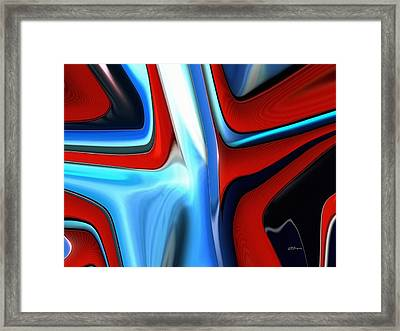 Lights On Center Stage Framed Print