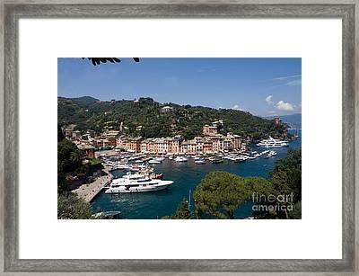 Ligurie Portefino Framed Print