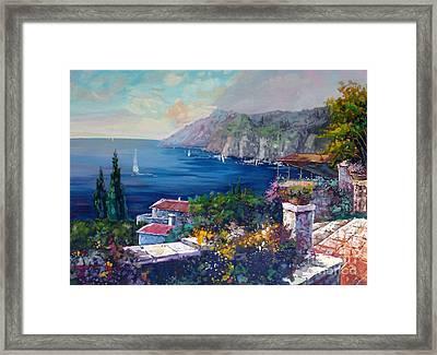Like A Fairytale - Detail One Framed Print by Kostas Dendrinos