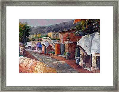 Like A Fairytale - Detail Two Framed Print by Kostas Dendrinos