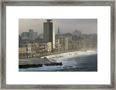 Like A Reef Built On Havanas Shore Framed Print by James L. Stanfield