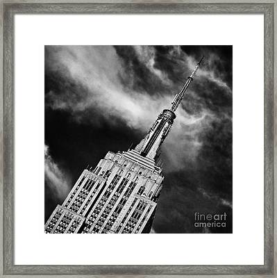 Like A Rocket Ship Heading To The Moon Framed Print by John Farnan