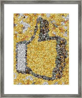 Like Money Framed Print by Paul Van Scott