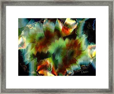 Like Stained Glass Framed Print
