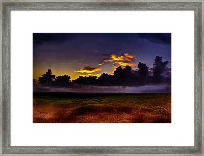 Like The First Morning Framed Print