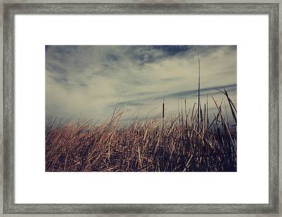Like The Way You Used To Run Your Fingers Through My Hair Framed Print by Laurie Search