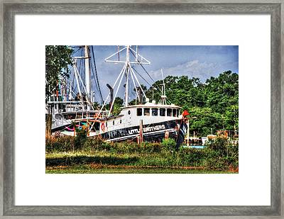 Lil Brothers No.2 Framed Print by Michael Thomas