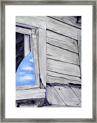 Lil House Framed Print by Art Hill Studios