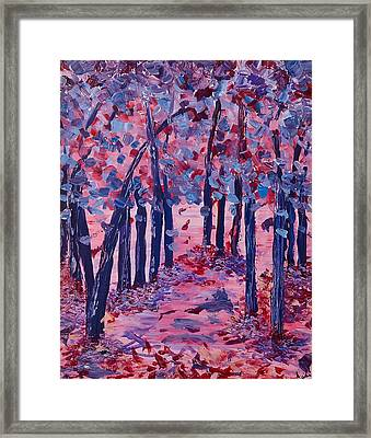 Lilac Avenue Framed Print