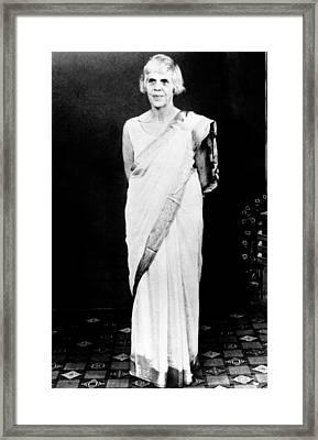 Lillian Carter, Mother Of President Framed Print