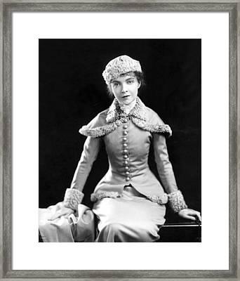 Lillian Gish, 1920s Framed Print