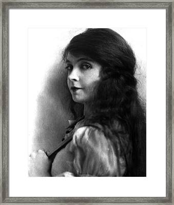 Lillian Gish, Ca. Early 1920s Framed Print by Everett