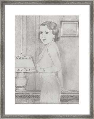 Lillian Framed Print by Jami Cirotti