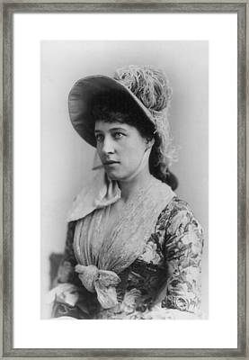 Lillie Langtry 1853-1929, Shortly Framed Print