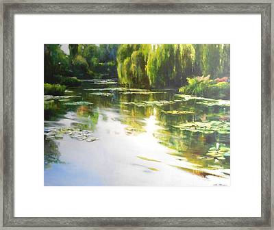 Lilly Lake Framed Print