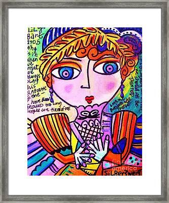 Lily Bart Framed Print