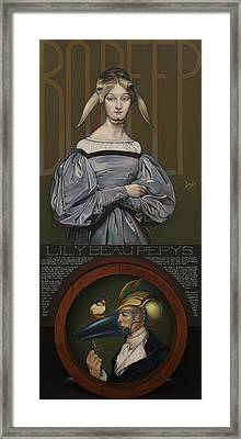 Lily Beau Pepys Framed Print by Patrick Anthony Pierson
