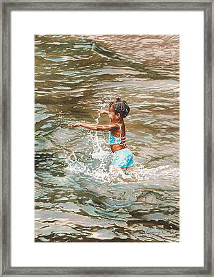 Lily Framed Print by Gregory Jules