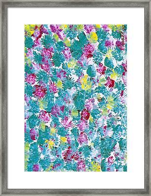 Lily Framed Print by Rhetta Hughes