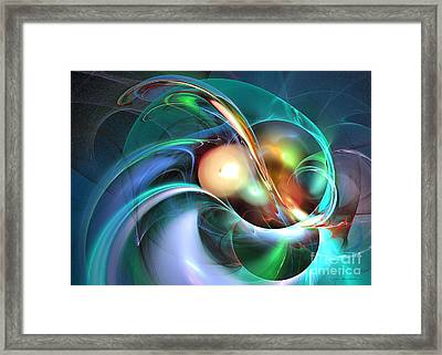 Limbo Of Oblivion Framed Print by Sipo Liimatainen