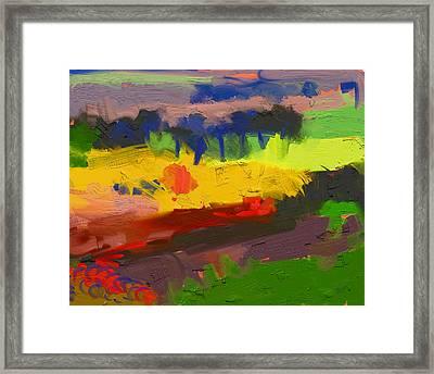 Limburg Landscape Framed Print by Nop Briex