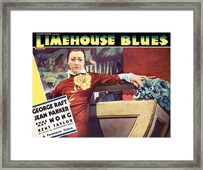 Limehouse Blues, Anna May Wong, 1934 Framed Print by Everett