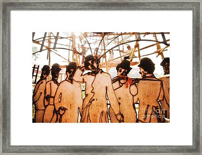 Limelight Framed Print by Dev Gogoi