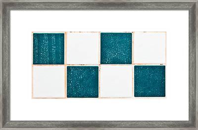 Limescale In Bathroom Framed Print by Tom Gowanlock