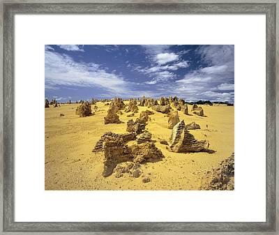 Limestone Karst Formations Framed Print by Dirk Wiersma