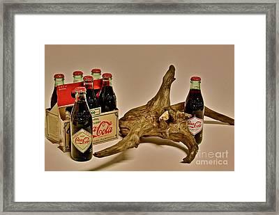 Limited Edition Coke Framed Print by Joe Finney