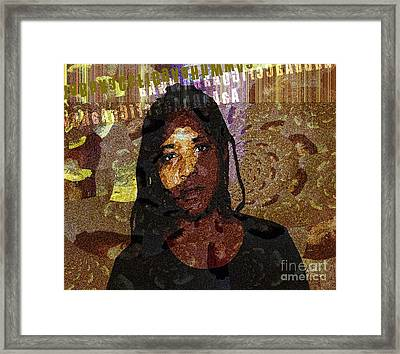 Limitless Framed Print by Fania Simon
