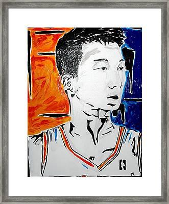 Lin  Framed Print by Patrick Ficklin
