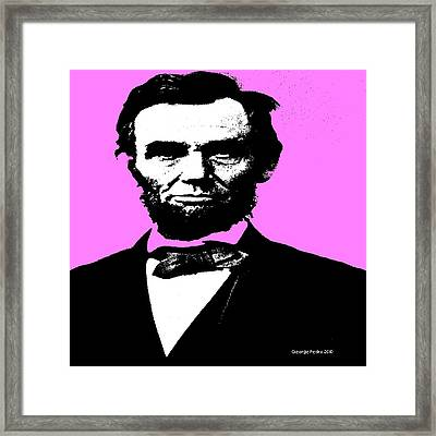 Lincoln Framed Print by George Pedro
