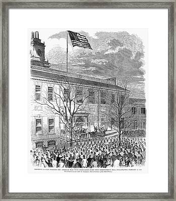 Lincoln: Independence Hall Framed Print by Granger