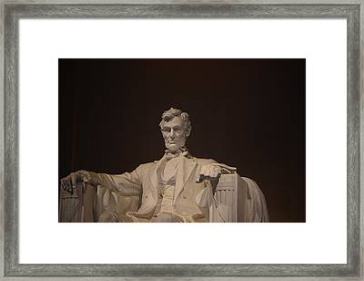 Lincoln Memorial 002 Framed Print