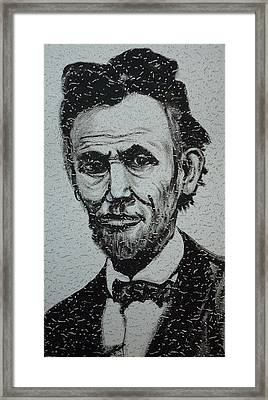 Lincoln Framed Print by Pete Maier