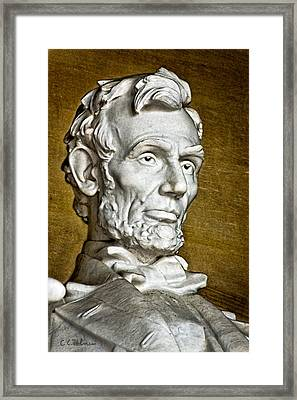 Lincoln Profle 2 Framed Print by Christopher Holmes
