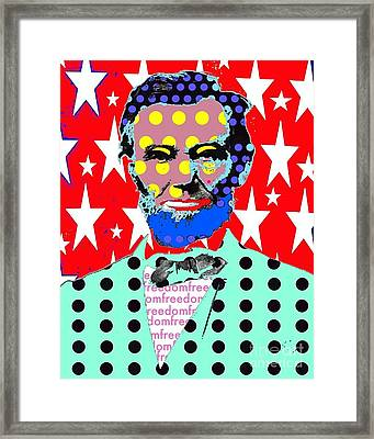 Lincoln Framed Print by Ricky Sencion