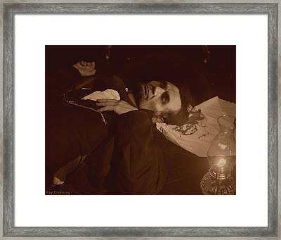Lincoln Shot Framed Print by Ray Downing