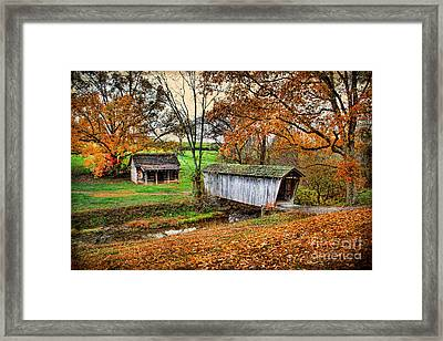 Lincoln's Homestead Framed Print