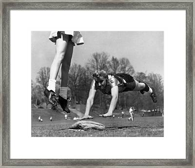 Linda Mcconkey, Of The Atlantas Lorelei Framed Print by Everett
