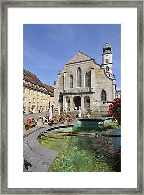Lindau Bavaria Germany Framed Print