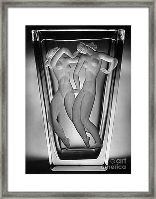 Lindstrand: Glass Vase Framed Print by Granger