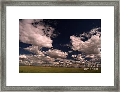 Line Shack  Framed Print by The Stone Age