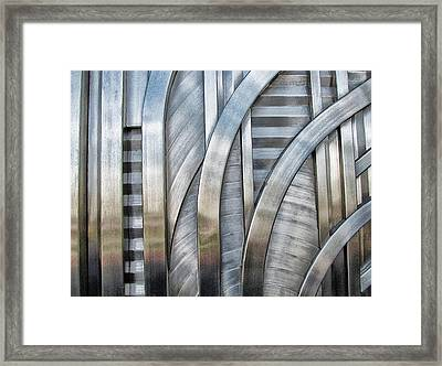 Framed Print featuring the photograph Lines And Curves by Tammy Espino