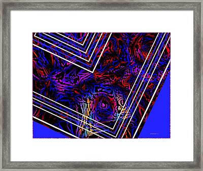 Lines And Tones Framed Print by Mario Perez