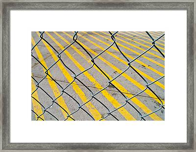 Framed Print featuring the photograph Lines by David Pantuso
