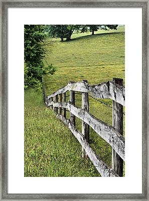 Lines Framed Print by JC Findley