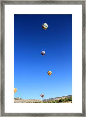 Lining The Sky Framed Print