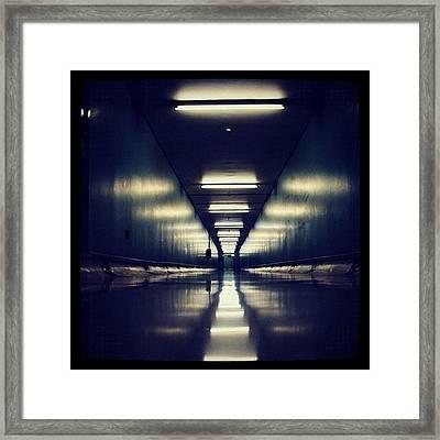 Link Tunnel Framed Print